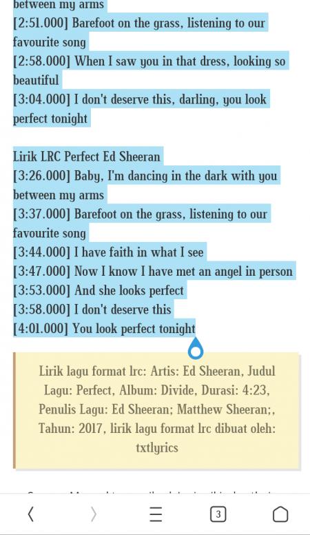 cara membuat lirik lagu di xiaomi