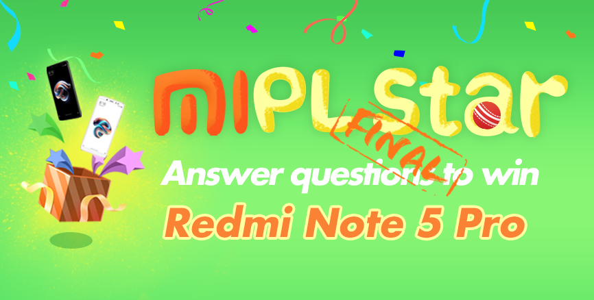 Ready to challenge your knowledge and win FREE Redmi Note 5 Pro? Join the contest now!