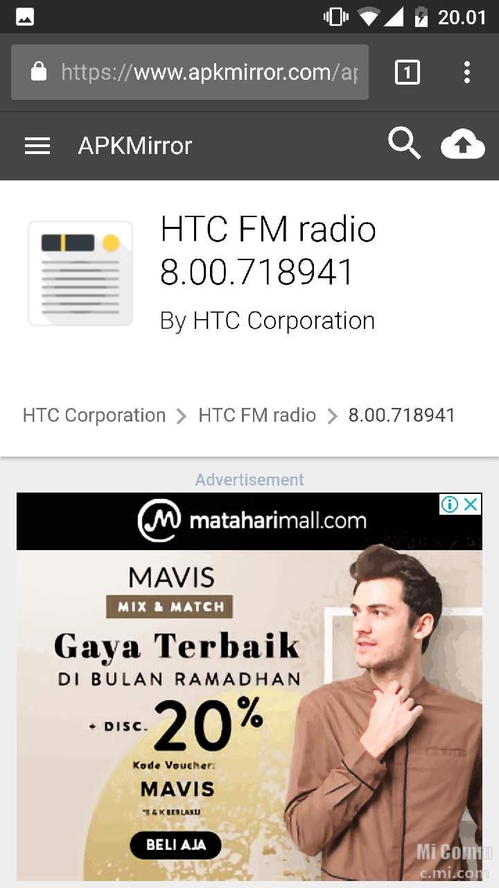 Aplikasi Radio FM Offline Bekerja Dengan Baik di Mi A1 - Mi