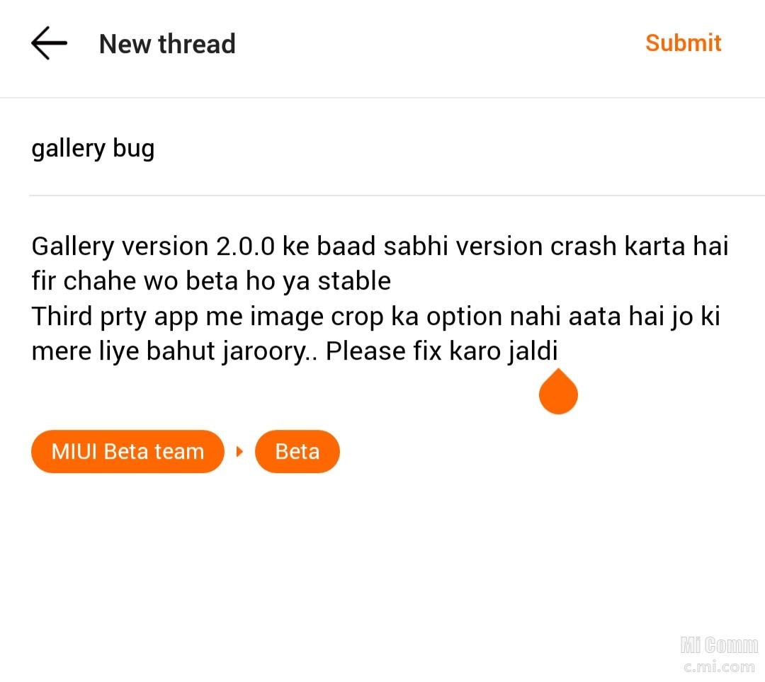 Gallery App Fix Redmi Note 4 Mi Community Xiaomi