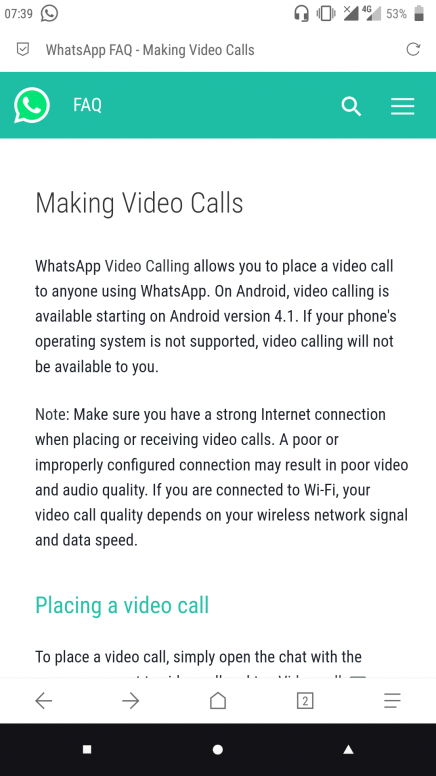 video chat on note 5