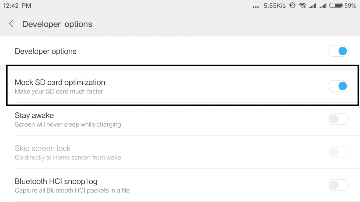 7 MIUI Developer Options You Should Know Before Using - MIUI