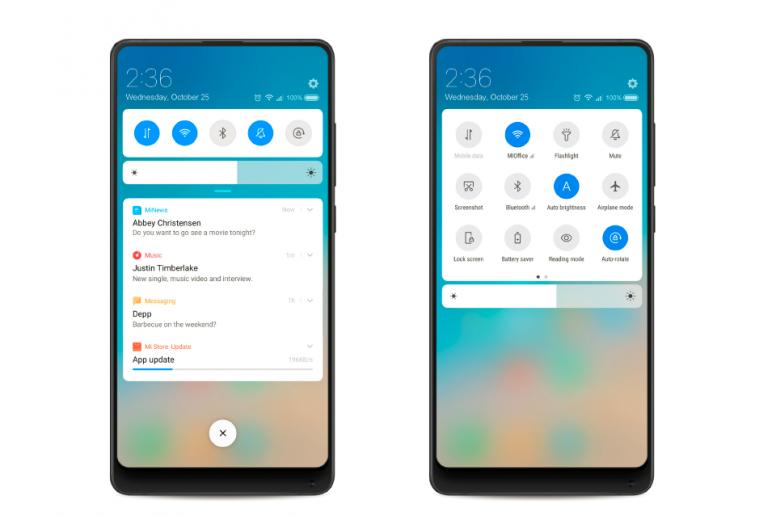 MIUI 10: An Innovation on Full Screen Display - MIUI