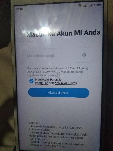 Lupa Kata Sandi Akun Mi Redmi Note 5a Mi Community Xiaomi