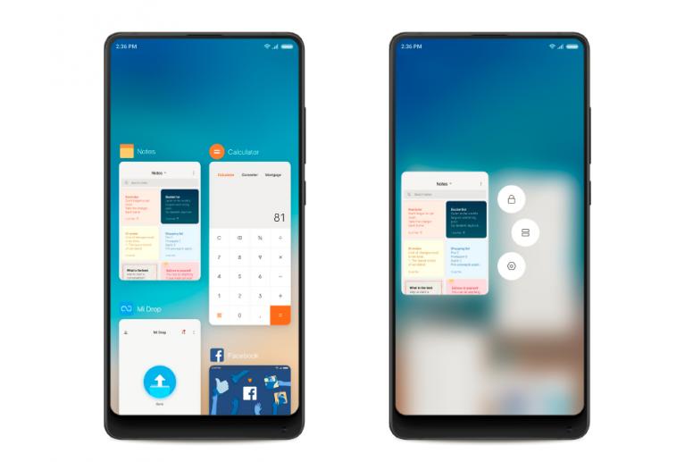 MIUI 10: Giao diện mới sáng tạo hơn với màn hình tràn cạnh