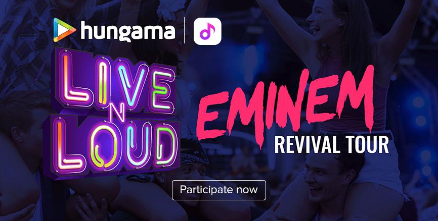Hungama LiveNLoud Eminem Contest