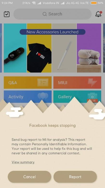 Facebook is crashing - Redmi Note 4 - Mi Community - Xiaomi