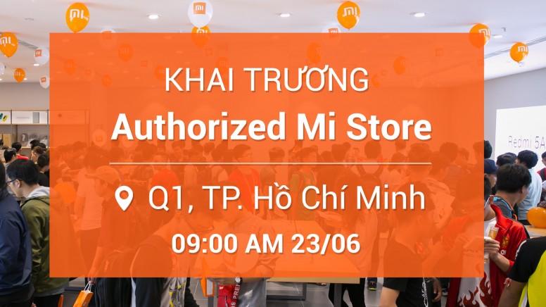 Mi Store mới sẽ khai trương tại Quận 1, TP. Hồ Chí Minh vào 23/6: Nhiều ưu đãi khủng đang chờ bạn