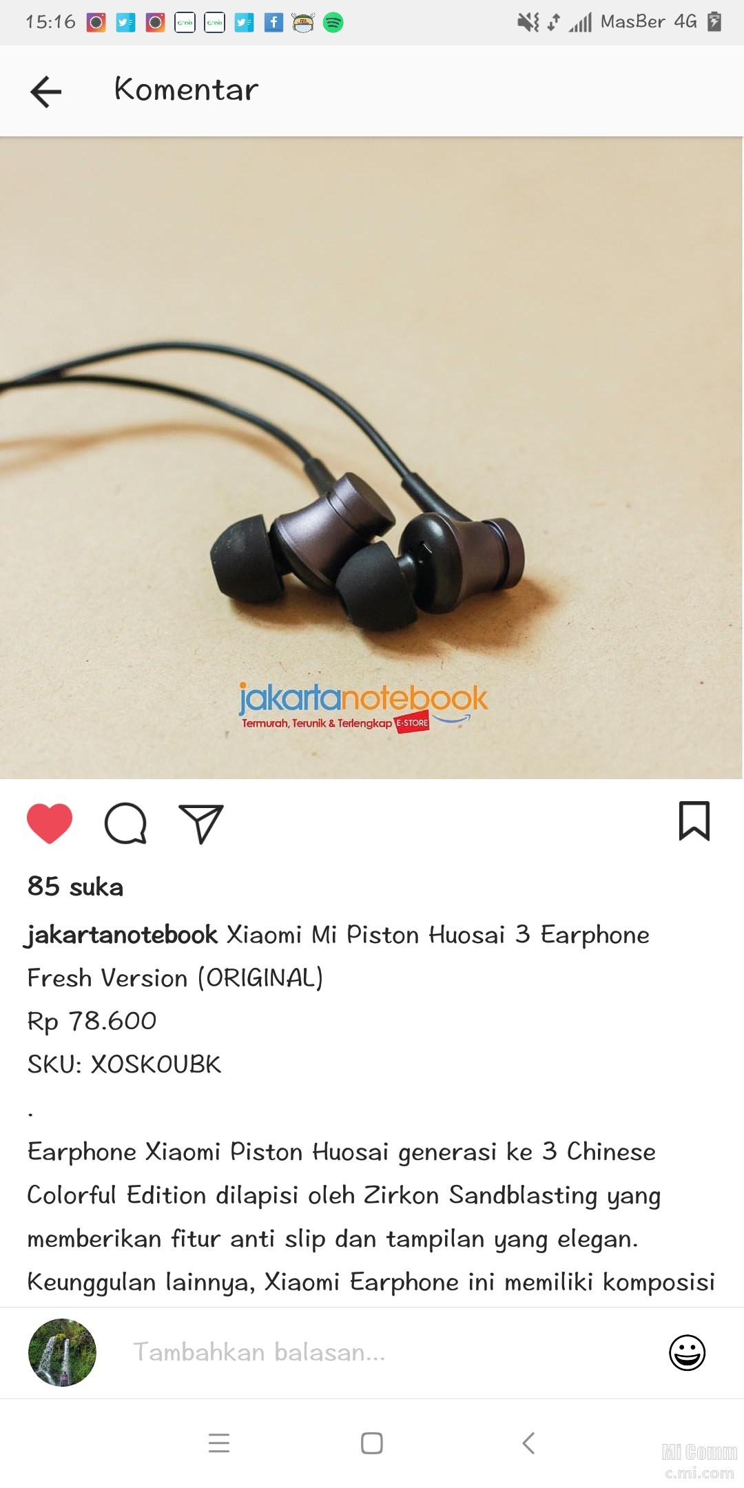 Headset Yang Bagus Apa Redmi Note 5 Mi Community Xiaomi Piston Huosai 2 Earphone Colorful Edition Original Click To Edit