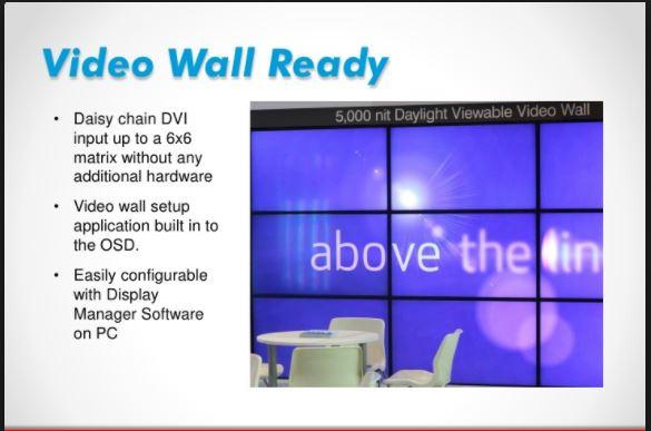 Video Wall - An Alternative To Large Screen Displays! - Mi Zone - Mi