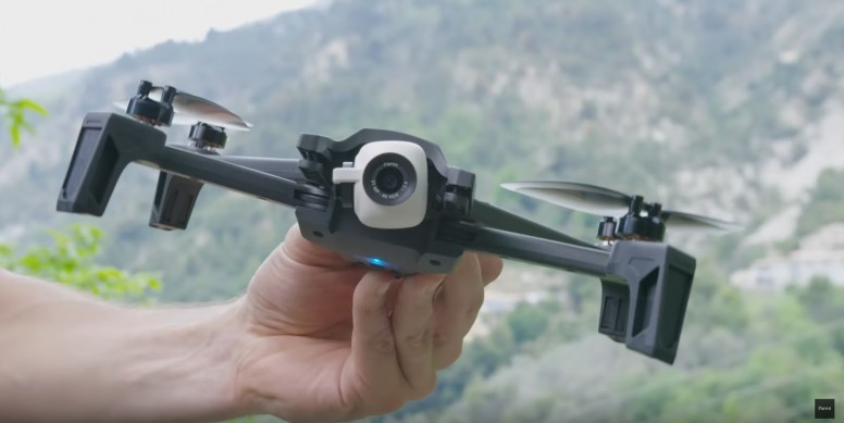 Drones] Anafi : The Flying 4K HDR Camera That You Can Take