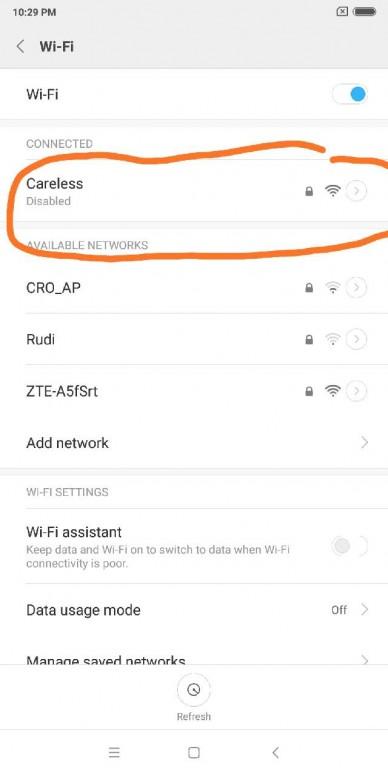 wifi tidak bisa konek - Redmi Note 5 - Mi Community - Xiaomi