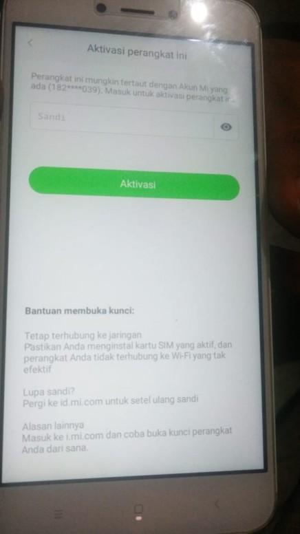 Mi Akun Yg Terkunci Redmi 5a Mi Community Xiaomi