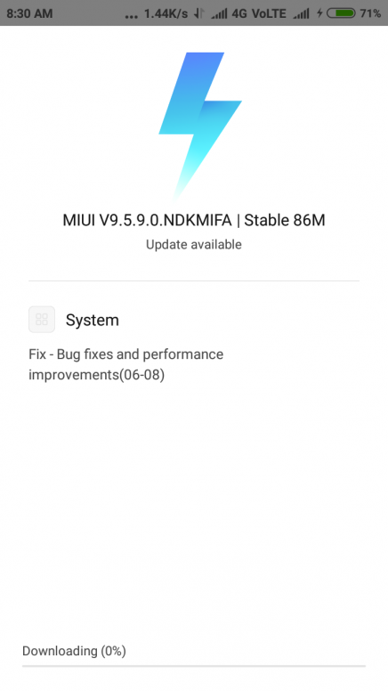 problem with update of MIUI 9 5 9 0 NDKMIFA l stable 86