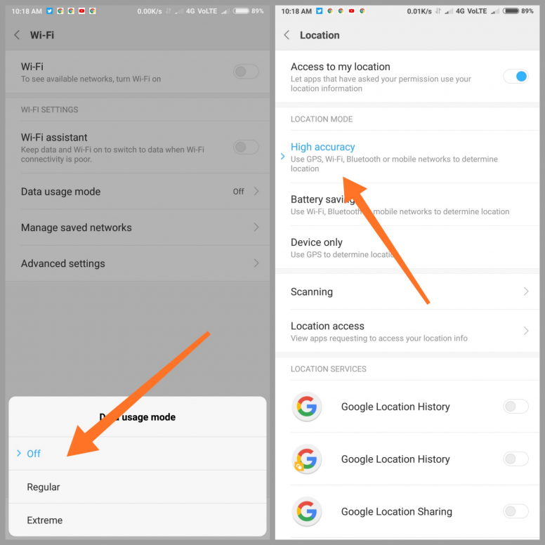 How To Fix Battery Draining Issue In REDMI NOTE 5 PRO   or