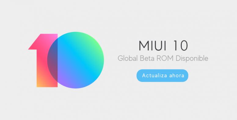actualización MIUI10 13 julio