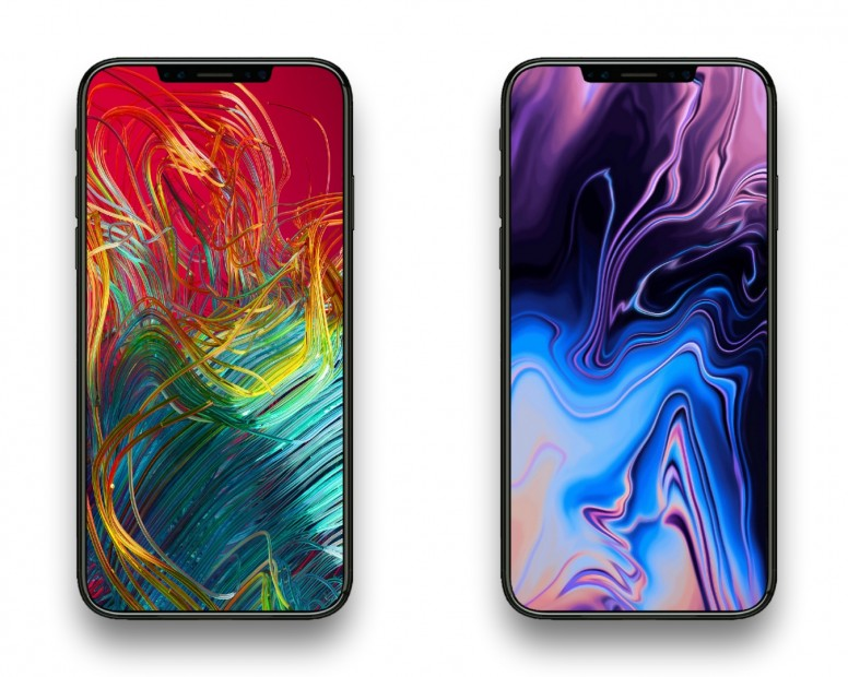 MacBook Pro 2018 Stock Wallpapers Resized For Your Smartphone