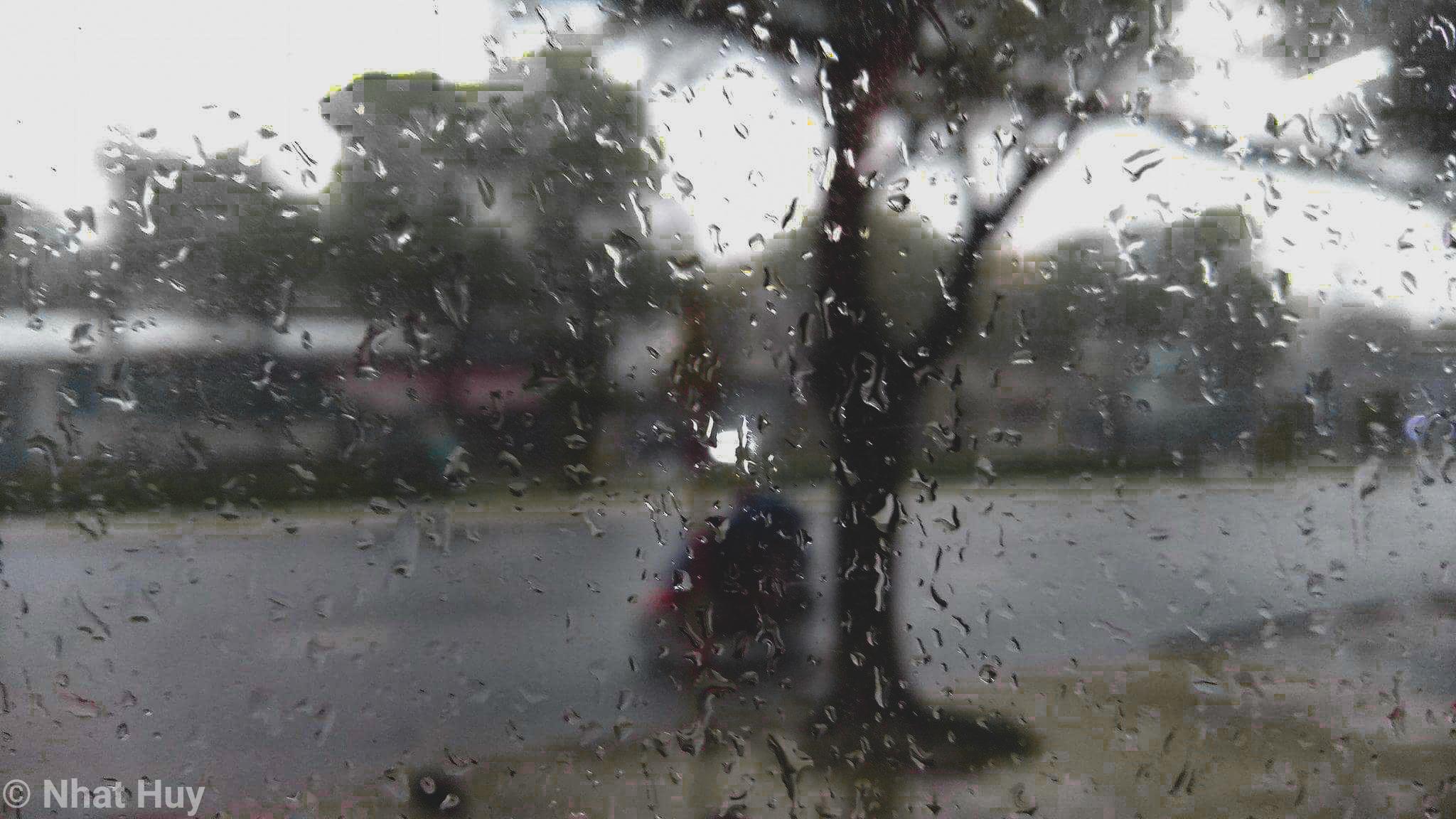 Trời mưa ở Cần Thơ