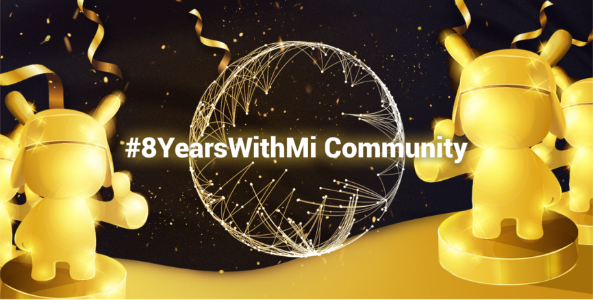 Golden Mi Bunny 8 years with Mi Community