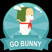 Go Bunny Medal