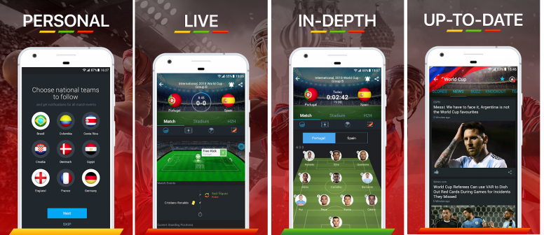 Know More About Some Football Score App - Resources - Mi