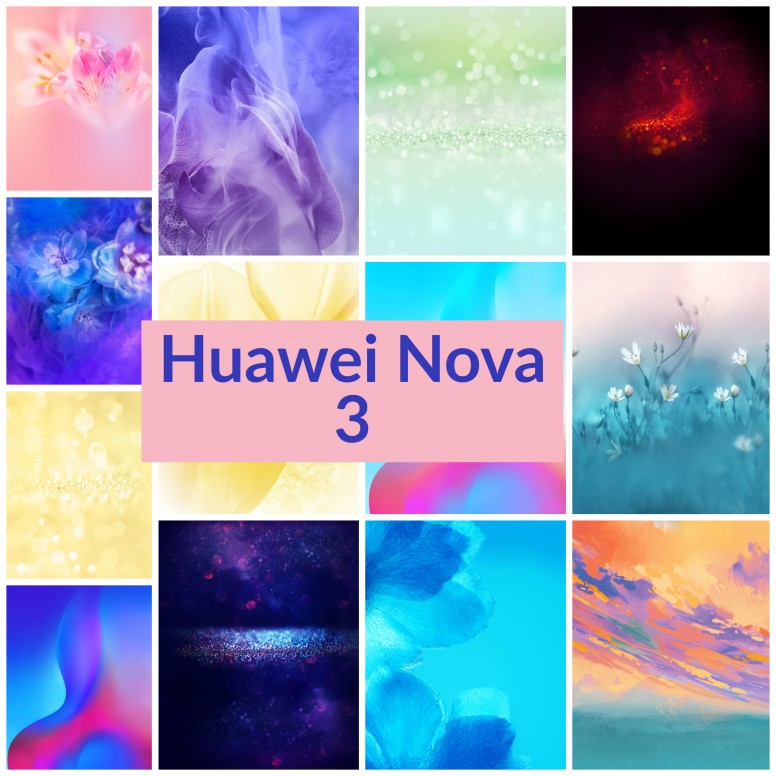 RT Huawei Nova 3 Stock Wallpapers For Your Phone