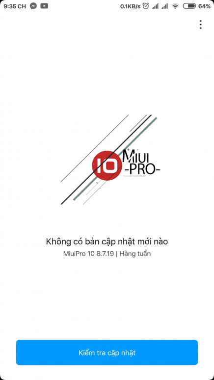 Update][MIUI10][GLOBAL][BEAT][8 10 11] MiuiPro + Kernel (20/10/2018