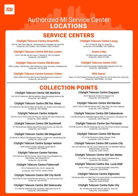 Service Center In Xiaomi Philippines Tech Mi Community Xiaomi