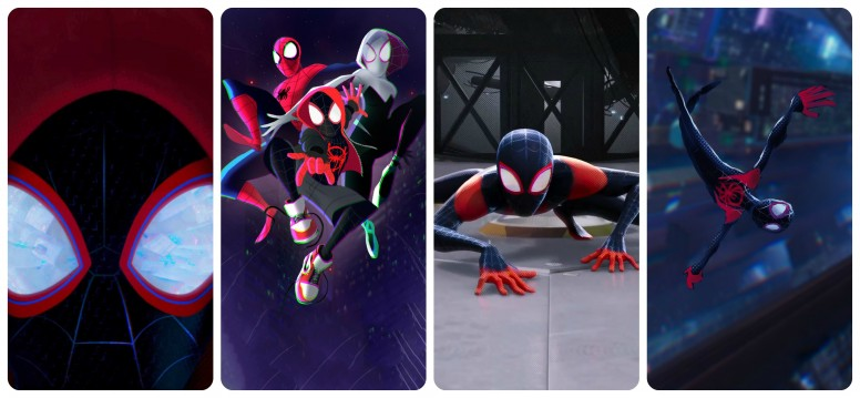 Rt Spiderman Into The Spider Verse 2018 Wallpapers Resources