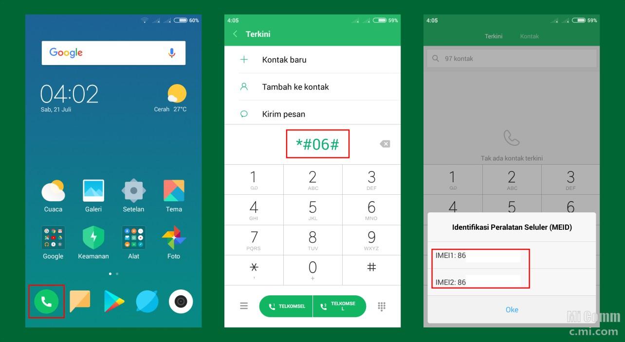7 Cara Cek Imei Ponsel Xiaomi - Tips dan trik - Mi Community - Xiaomi