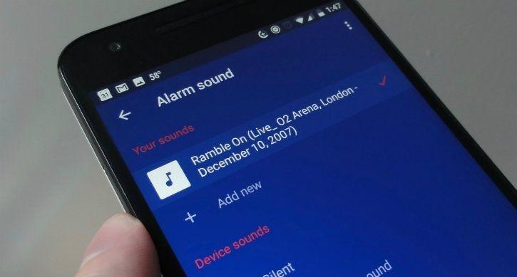 You Can Now Set Your Music Playlist As Your Alarm Sound