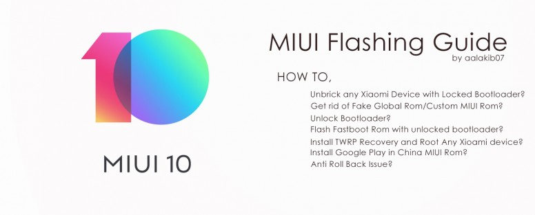 All in One] MIUI Flashing Guide: Unbrick, EDL Method