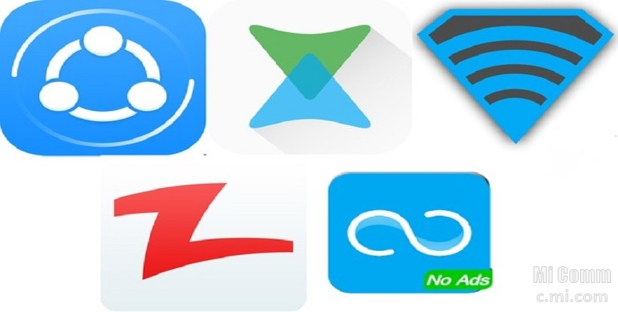 Top 5 File Sharing Apps For Android - Resources - Mi