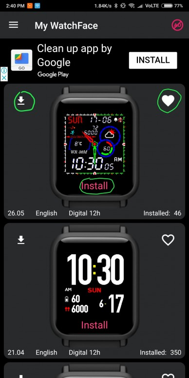 Install Custom WatchFaces on Amazfit Bip (Easiest and Best