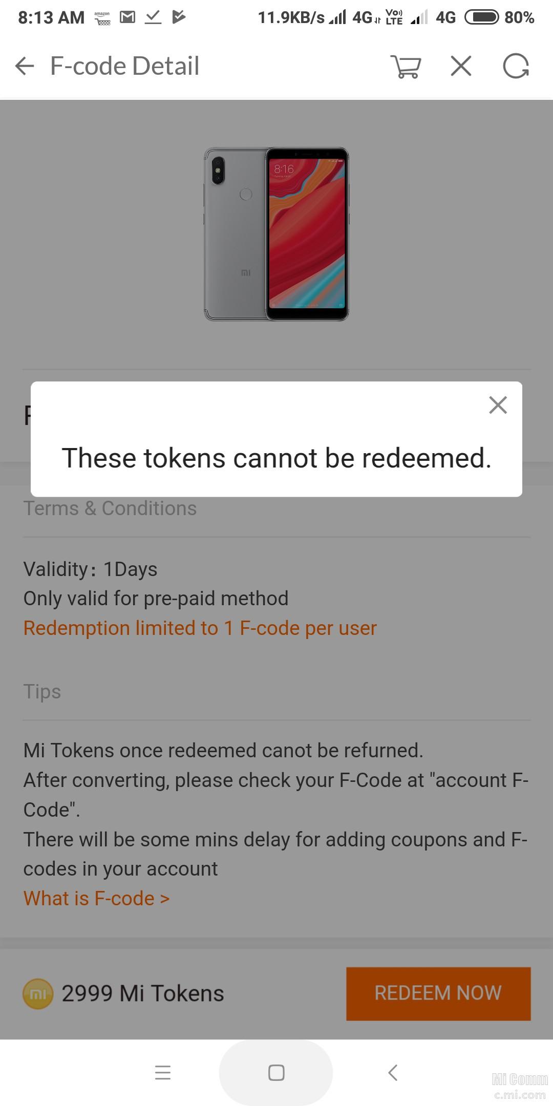 I can not find a code - Redmi Y2 - Mi Community - Xiaomi