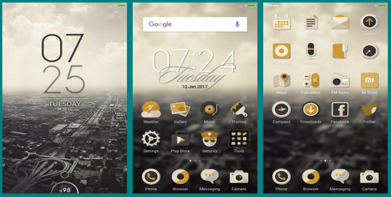 City Blanca a Cityscape Theme - Themes - Mi Community - Xiaomi