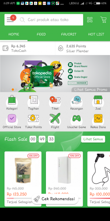 Aplikasi Tokopedia Redmi 5 Plus Mi Community Xiaomi