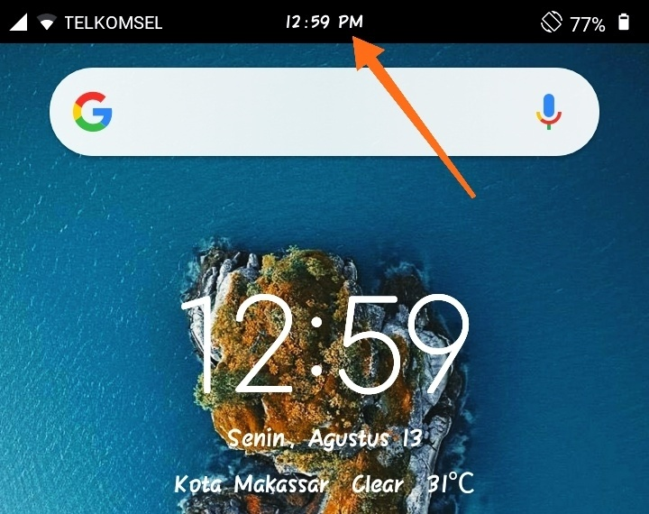 Tips Membuat Jam Ditengah Redmi 5a Mi Community Xiaomi