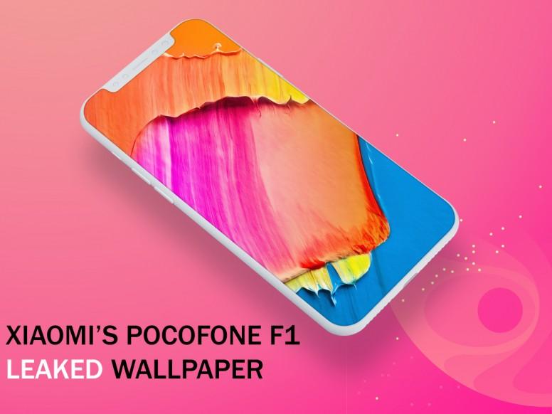 Xiaomi S Pocophone F1 Built In Leaked Wallpaper Download It Now