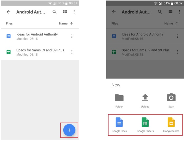 How to use Google Drive — everything you need to know - Mi A2 Lite