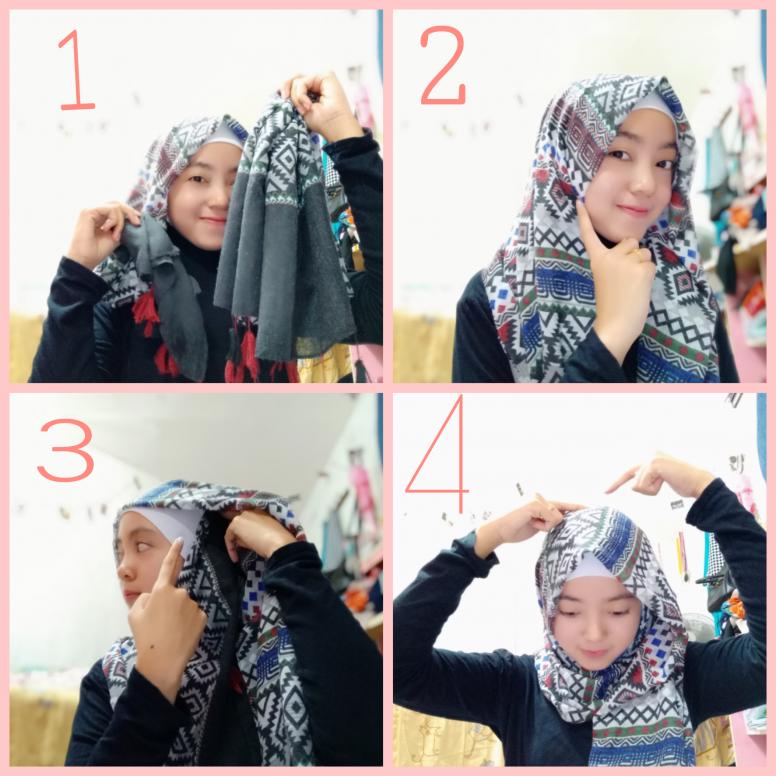 Contoh Soal Dan Materi Pelajaran 5 Tutorial Model Hijab Nissa Sabyan