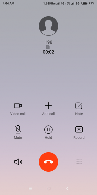 can we change calling background in miui 10 global beta rom