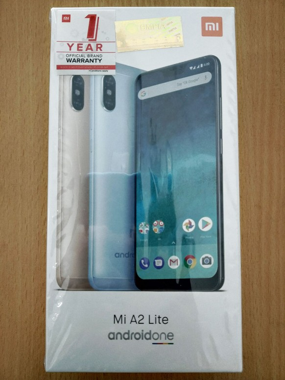 Unboxing & Hands-on Images of Mi A2 Lite: The Beauty of Notch - Mi