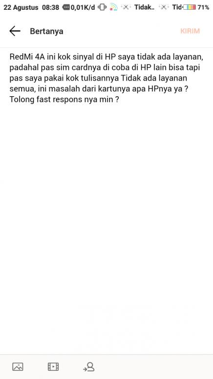 no service problem ? - Redmi 4A - Mi Community - Xiaomi