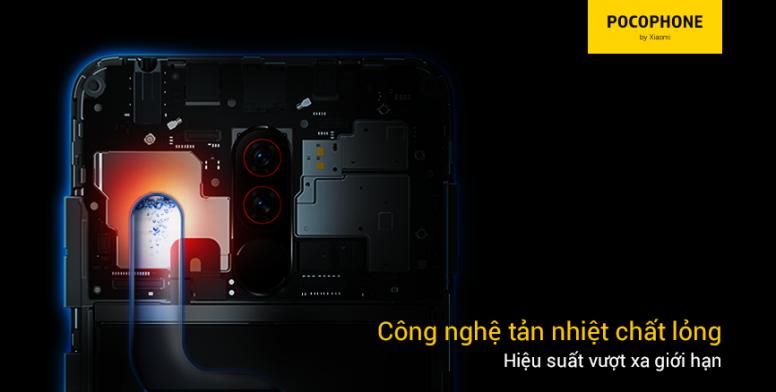 #POCOPHONE F1: Tản nhiệt chất lỏng + Snapdradragon 845