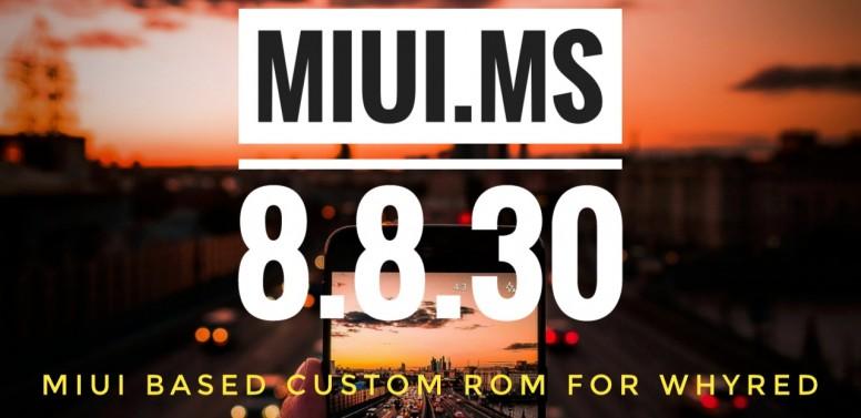 MIUI MS MIUI 10 8 8 30 BUILD IS UP! - Redmi Note 5 - Mi