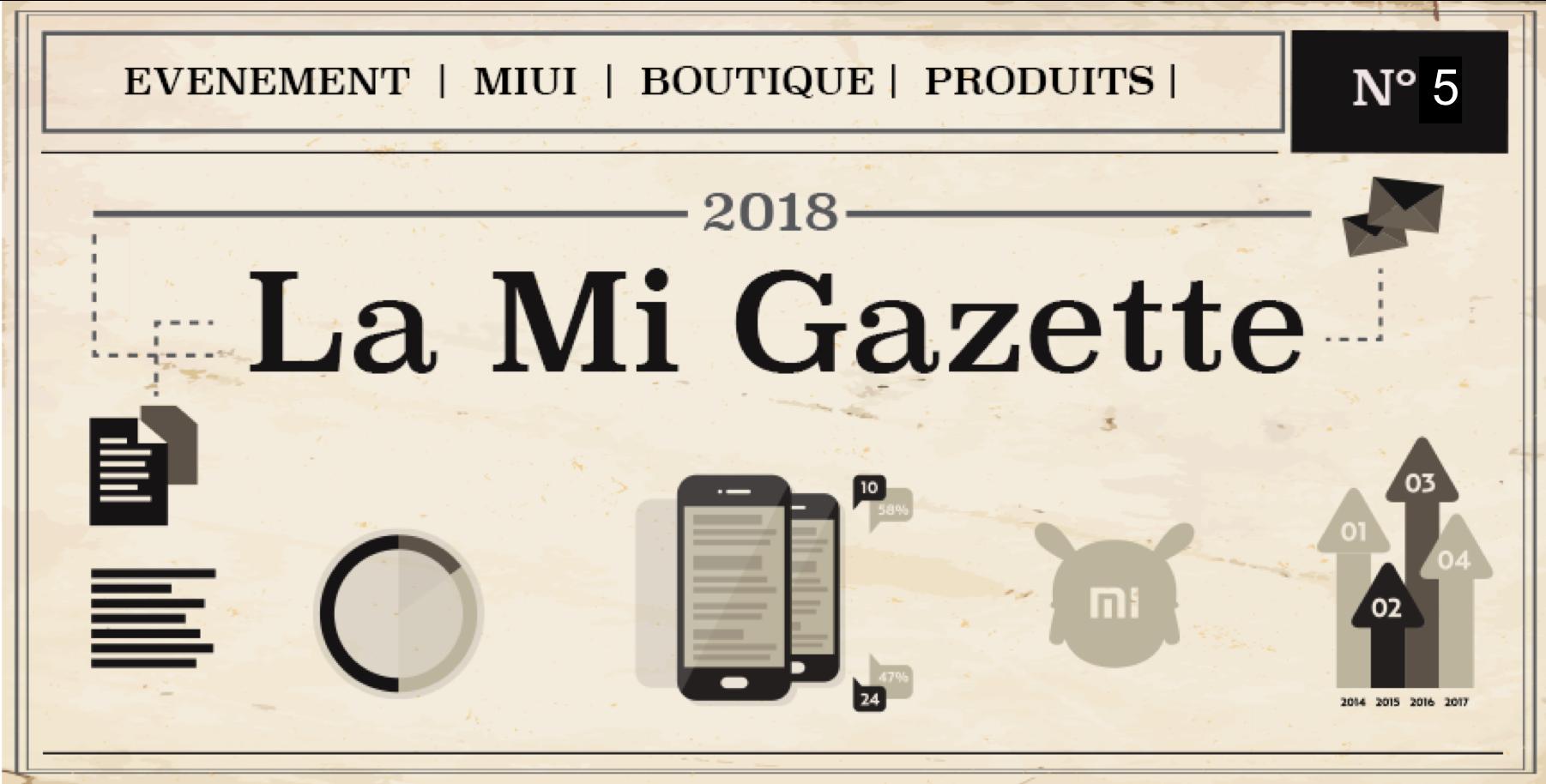 La Mi Gazette Numéro 5, voici le meilleur de ce mois-ci