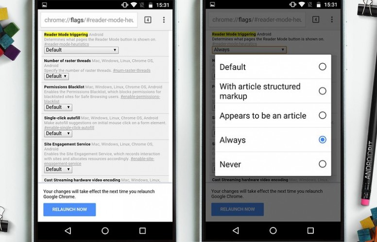 Chrome for Android Tips and Tricks - Tips and Tricks - Mi