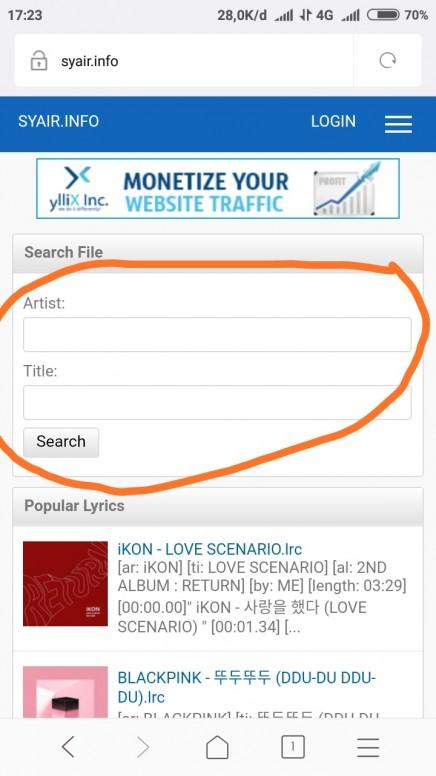 Cara Menambahkan Lirik Lagu Di Mi Musik Tanpa Harus Menggunakan App