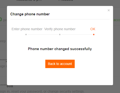 Lưu ý đổi số điện thoại xác thực Tài khoản Mi khi chuyển đổi SIM 11 số thành 10 số